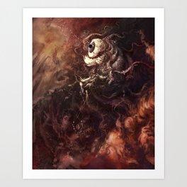 Star Eater Dark Art Print