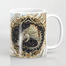 Golden dragon in the nest Mug