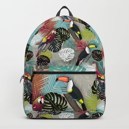 Tropical Birds (Color 2 - Bold) Backpack