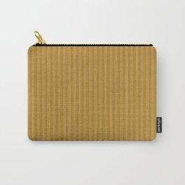 Ochre + Goldenrod Stripe Carry-All Pouch