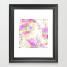 Happy Neons Framed Art Print