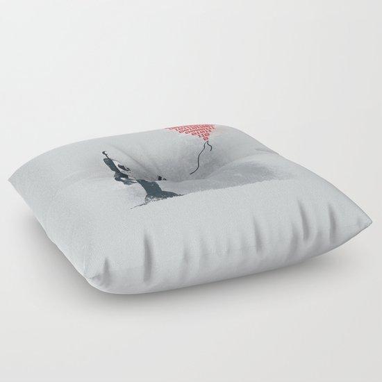 Binary Art Floor Pillow