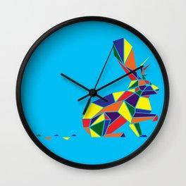 Wingless Wolpertinger (A.K.A Jackelope) Wall Clock