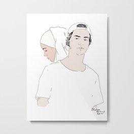 YousefSana Metal Print