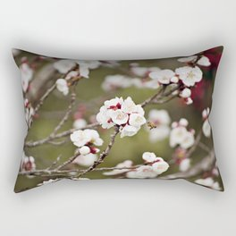 Drawn to the Scent of Spring Rectangular Pillow