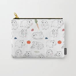 Guinea Pigs and Vegetables Carry-All Pouch