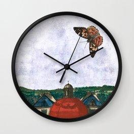 I made my mind a garden - to flourish Wall Clock
