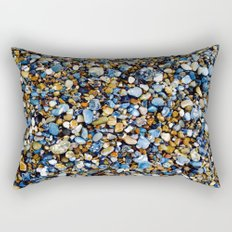 Pebbles in Color Rectangular Pillow