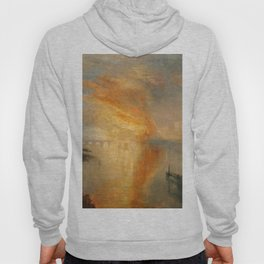 "J.M.W. Turner ""The Burning of the Houses of Lords and Commons""(1835) Hoody"