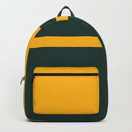 Green Yellow Graphics Backpack