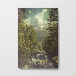 Mountain View - Italian Alps Metal Print