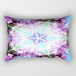 Purple Flower Power Series Rectangular Pillow
