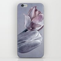 silver iPhone & iPod Skins featuring SILVER by INA FineArt