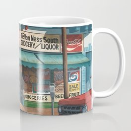 The Van Ness South Grocery 17 & SVN San Francisco 1994 Coffee Mug