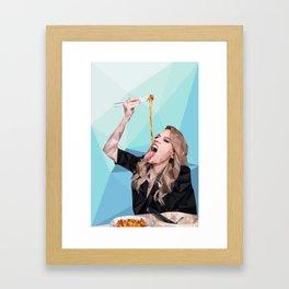 Kate Mckinnon Framed Art Print