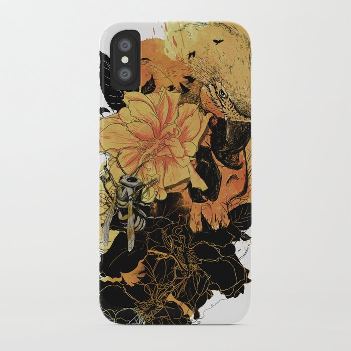 Pollination Fire iPhone Case