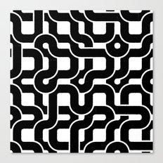 Orion (Black on white) Canvas Print