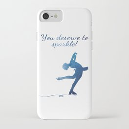 You deserve to sparkle iPhone Case