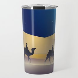 caravan at night Travel Mug