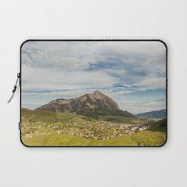 Tiny Mountain Town Laptop Sleeve