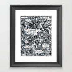 The Wonderful Plague Framed Art Print