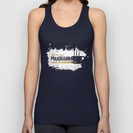 Programmer - awesome life Unisex Tank Top