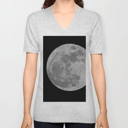 Full Moon Unisex V-Neck