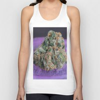 medical Tank Tops featuring Jenny's Kush Medical Marijuana by BudProducts.us