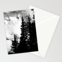 Alpine Classic (Black and White) Stationery Cards