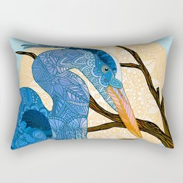 Egret Sun Rectangular Pillow