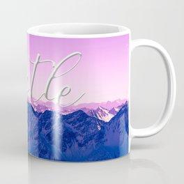 Ultra Violet Mountains - Hustle Coffee Mug