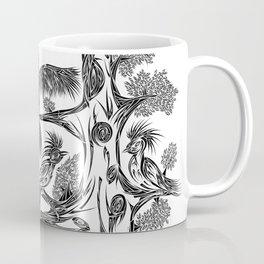 Japanese Birds Coffee Mug