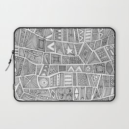 ESHE black white Laptop Sleeve