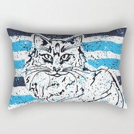 Cat stripes Rectangular Pillow