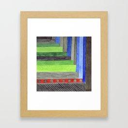 The Red Threshold  Framed Art Print