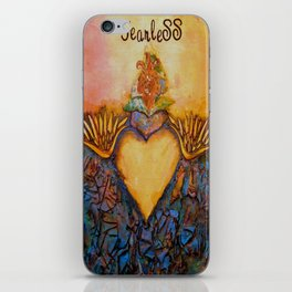 """Fearless"" iPhone Skin"