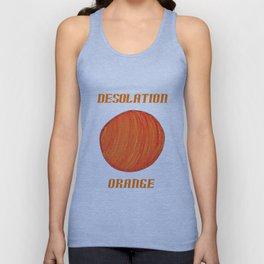 Desolation Orange Unisex Tank Top