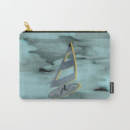 Surfing Dreamy Misty Minty Carry-All Pouch