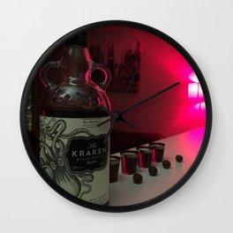 dark drinks Wall Clock