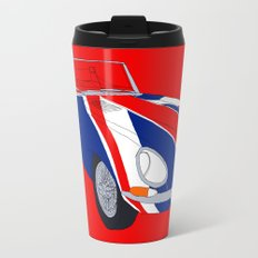 Shaguar (on Red) Travel Mug