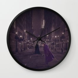 Dark Nights Wall Clock