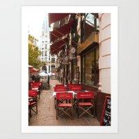 Cafe Cabildo de Buenos Aires Art Print