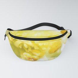 Yellow Stamen Sunshine | Flower | Nadia Bonello Fanny Pack