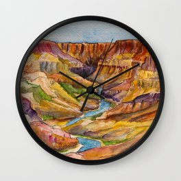 Grand Canyon National Park Wall Clock