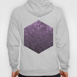 Metal Grunge Relief Floral Abstract G166 Hoody