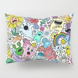 Doodles Day Pillow Sham