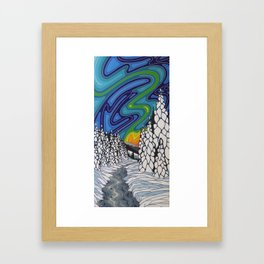 Don't Ever Let Go Framed Art Print