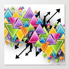 Vector Funk!  Canvas Print