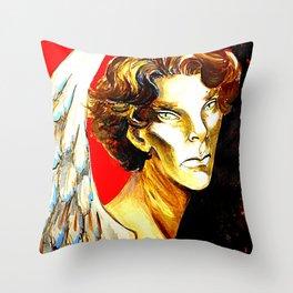 The Angel Islington  Throw Pillow