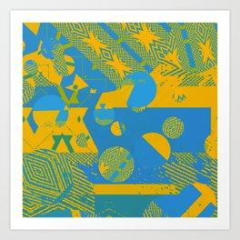 New Sacred 25 (2014) Art Print